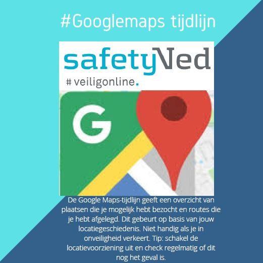 Googlemaps tijdlijn