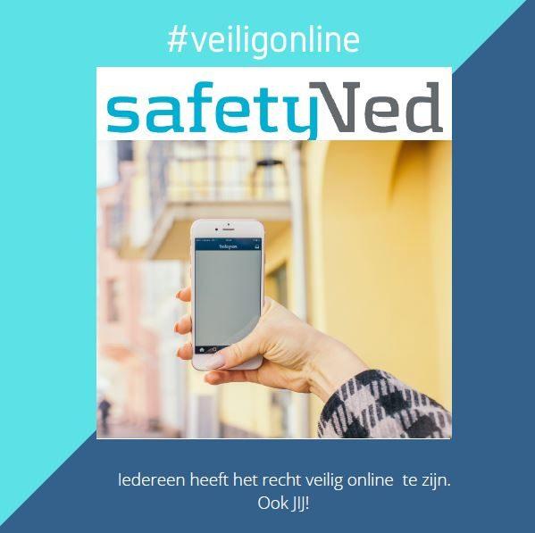 Iedereen heeft het recht veilig online te zijn