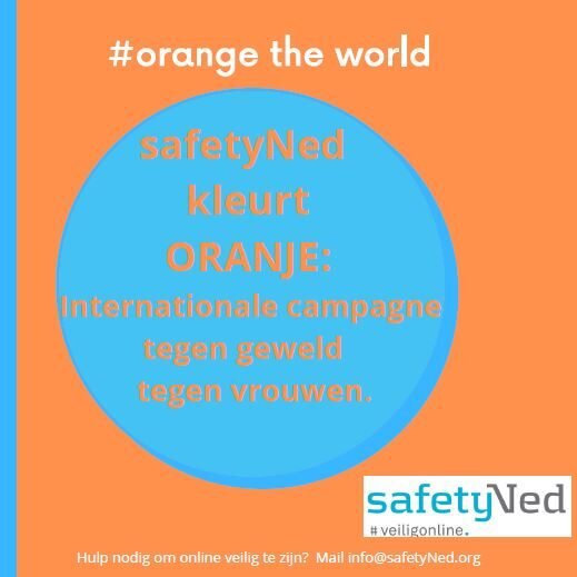 safetyNed kleurt oranje