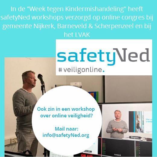 Workshop online veiligheid